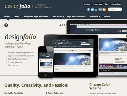 Designfolio WordPress Theme