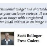 Testimonial Widget & Shortcode