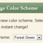 Color Scheme Widget