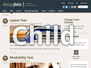 Designfolio Child Theme