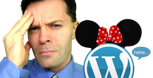 WordPress mickey