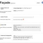 Facade Theme Options